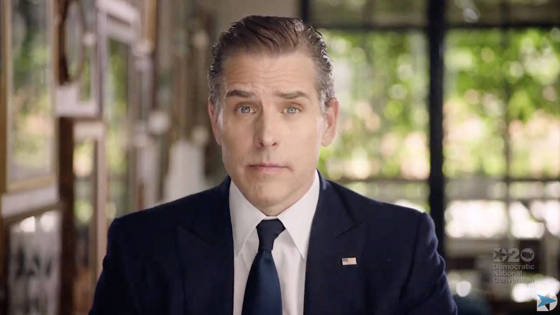(FILES) In this file photo video grab made on August 20, 2020 from the online broadcast of the Democratic National Convention, being held virtually amid the novel coronavirus pandemic, shows former vice-president and Democratic presidential nominee Joe Biden's son Hunter Biden speaking during the last day of the convention. - Sputnik International, 1920, 23.07.2021