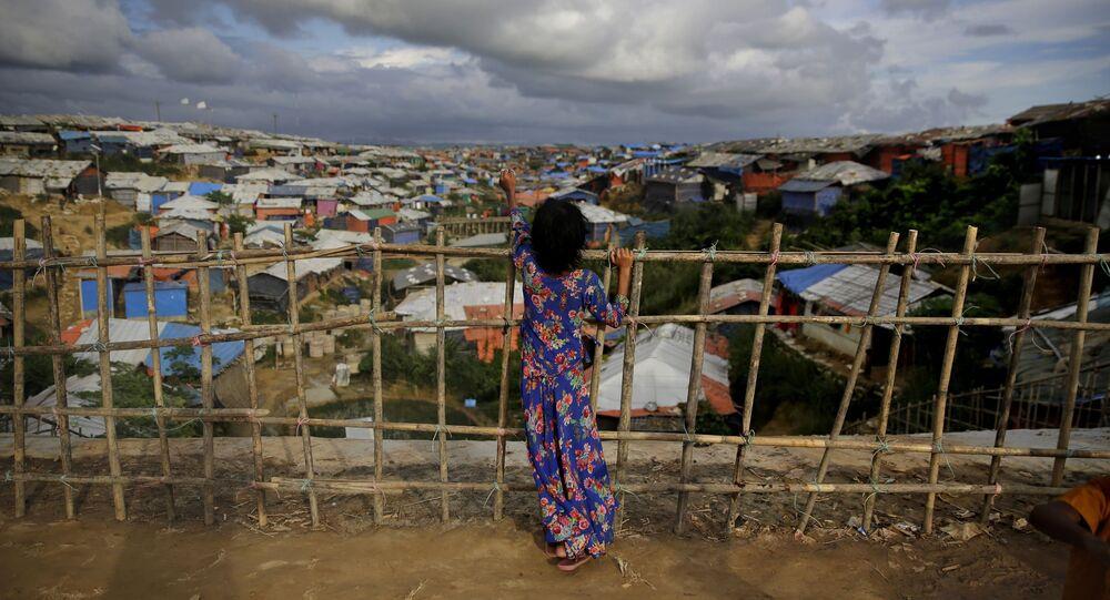 Rohingya refugee girl (File)