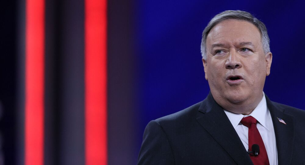 Former US Secretary of State Mike Pompeo addresses the Conservative Political Action Conference held at the Hyatt Regency hotel on 27 February 2021 in Orlando, Florida.