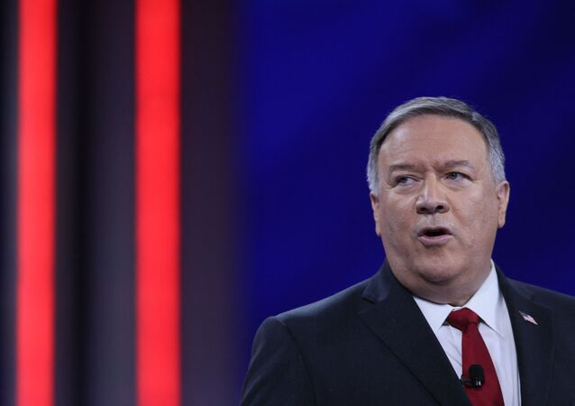 Former U.S. Secretary of State Mike Pompeo addresses the Conservative Political Action Conference held in the Hyatt Regency on February 27, 2021 in Orlando, Florida.