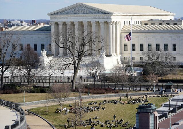 A view of the Supreme Court in Washington, U.S. January 19, 2021