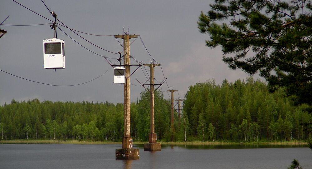 Kristineberg-Boliden ropeway
