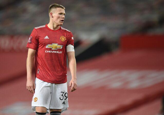 Manchester United's Scottish midfielder Scott McTominay
