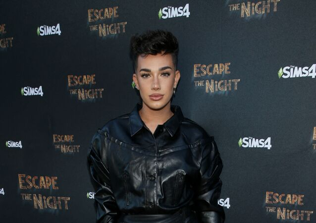 James Charles attends Joey Graceffa's YouTube Original Series Escape The Night VIP Escape Room Experience at UTA on August 08, 2019 in Beverly Hills, California