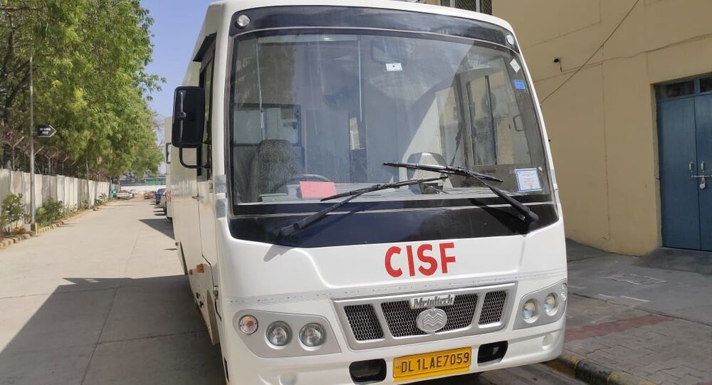 India's Central Industrial Security Force's (CISF) bomb detection and disposal squad (BDDS) gets a fully equipped van