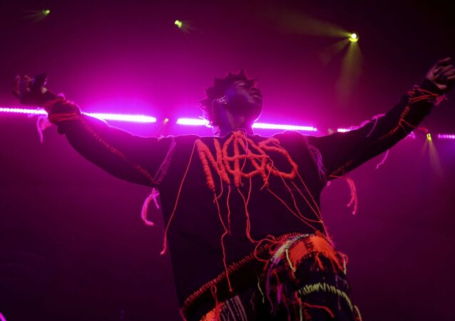 Lil Nas X performs live on stage at the 2020 Spotify Best New Artist Party at The Lot Studios on Thursday, Jan. 23, 2020, in West Hollywood, Calif