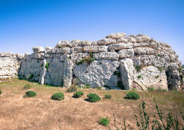Ggantija as seen from the west