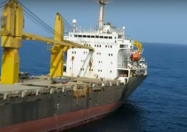 Saviz vessel