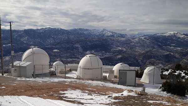 Numerica's satellite tracking station in Spain - Sputnik International