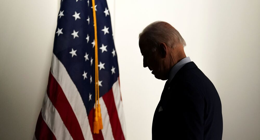U.S. President Joe Biden departs the room after speaking about jobs and the economy at the White House in Washington U.S