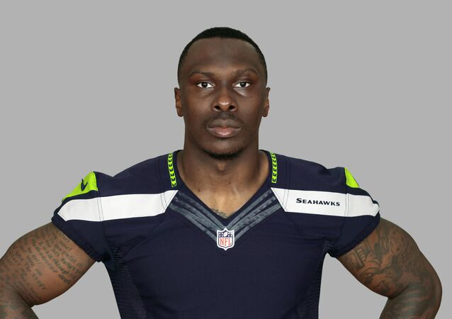 This is a 2014 photo of Phillip Adams of the Seattle Seahawks NFL football team. This image reflects the Seattle Seahawks active roster as of Tuesday, June 3, 2014 when this image was taken