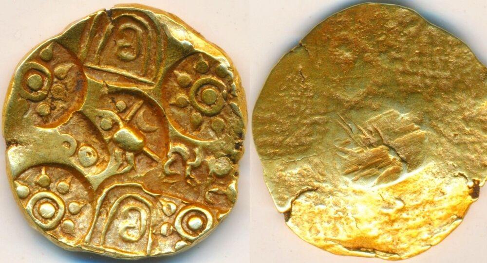 Kakatiya Dynasty's Gold Coin