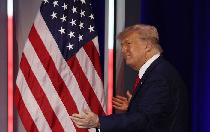 Former President Donald Trump. File photo