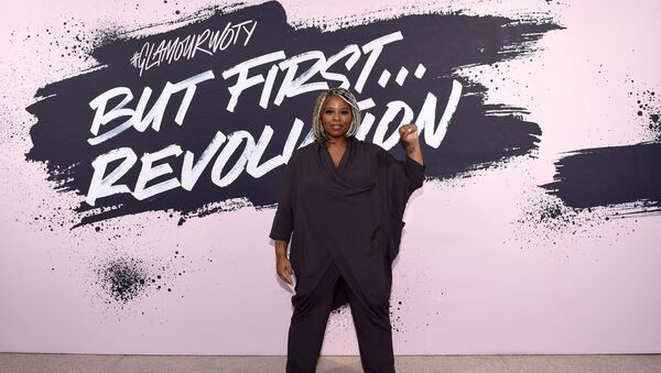 Black Lives Matter cofounder Patrisse Khan-Cullors poses during Glamour Celebrates 2017 Women Of The Year Live Summit at Brooklyn Museum - Sputnik International