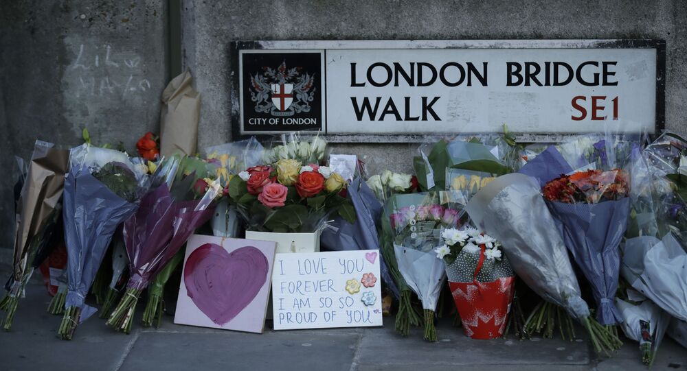 Tributes are laid to the victims of the attack by Usman Khan