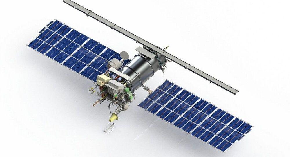 Meteor-M2 weather satellite