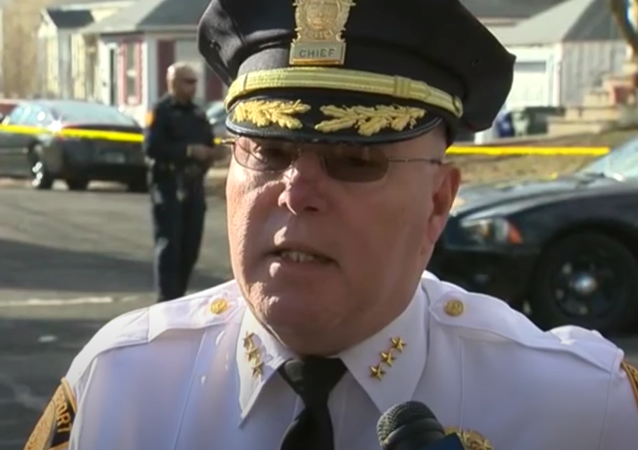 Bridgeport Police Chief Armando Perez updates the media on the search for Ailyn Hernandez