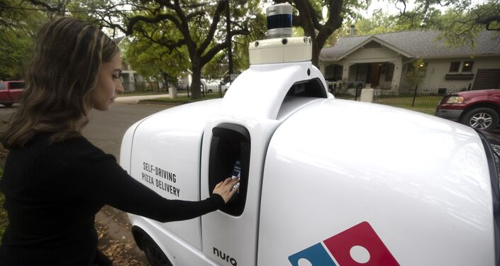 Beginning this week, select customers who place a prepaid order on dominos.com on certain days and times from Domino's, located at 3209 Houston Ave. in Houston, can choose to have their pizza delivered by Nuro's R2 robot.