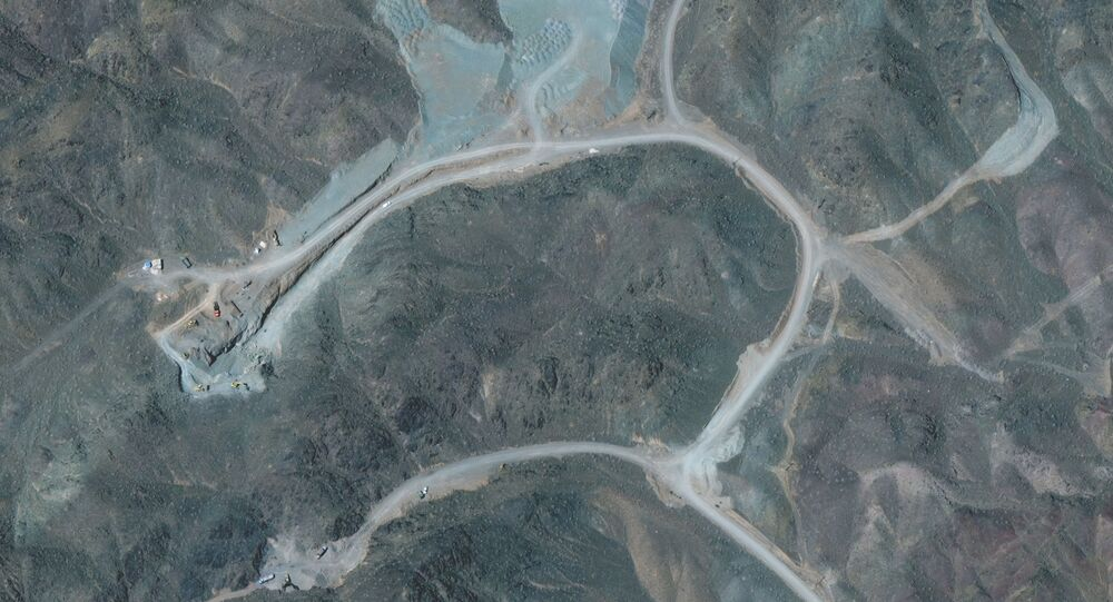 A view of the Natanz uranium enrichment facility 250 km (155 miles) south of the Iranian capital Tehran, in this Maxar Technologies satellite image taken last week and obtained by Reuters on April 12, 2021.