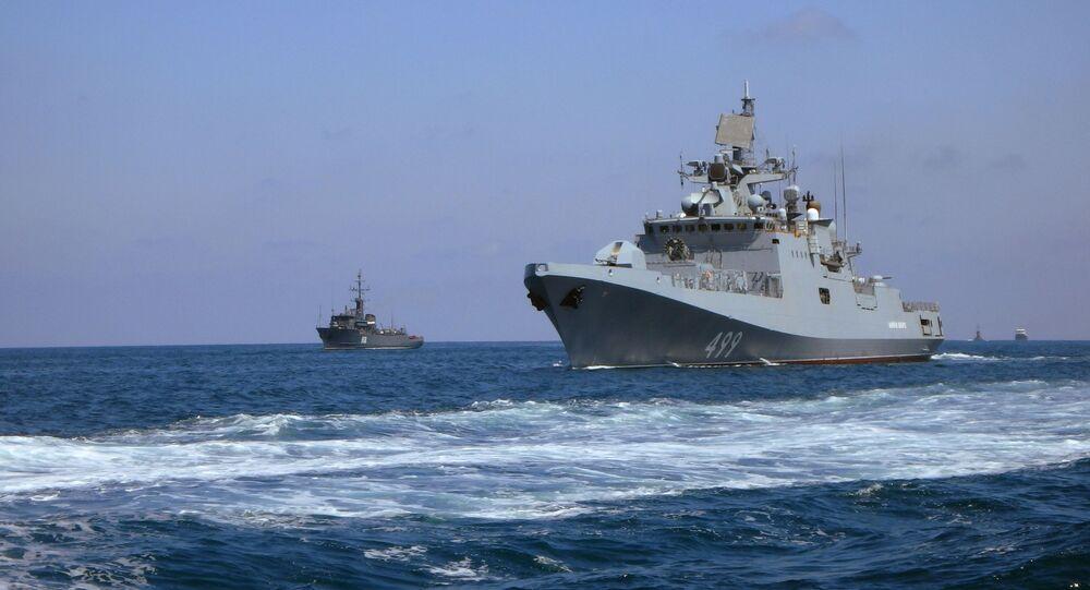 Admiral Makarov frigate. File photo.