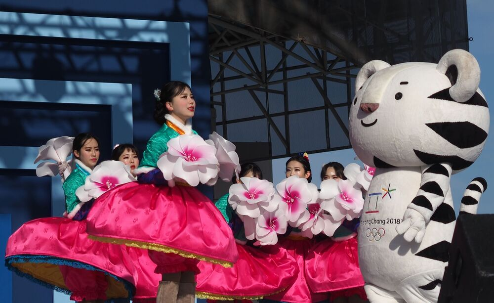 Soohorang is a white tiger who was the official mascot for the 2018 South Korea Winter Olympics.