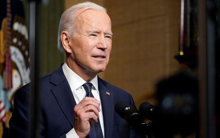 U.S. President Joe Biden leaves delivers remarks on his plan to withdraw American troops from Afghanistan, at the White House, Washington, U.S., April 14, 2021.