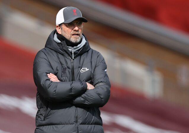 April 10, 2021 Liverpool manager Juergen Klopp