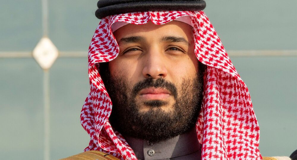 Saudi Arabia's Crown Prince Mohammed bin Salman attends a graduation ceremony for the 95th batch of cadets from the King Faisal Air Academy in Riyadh, Saudi Arabia December 23, 2018.