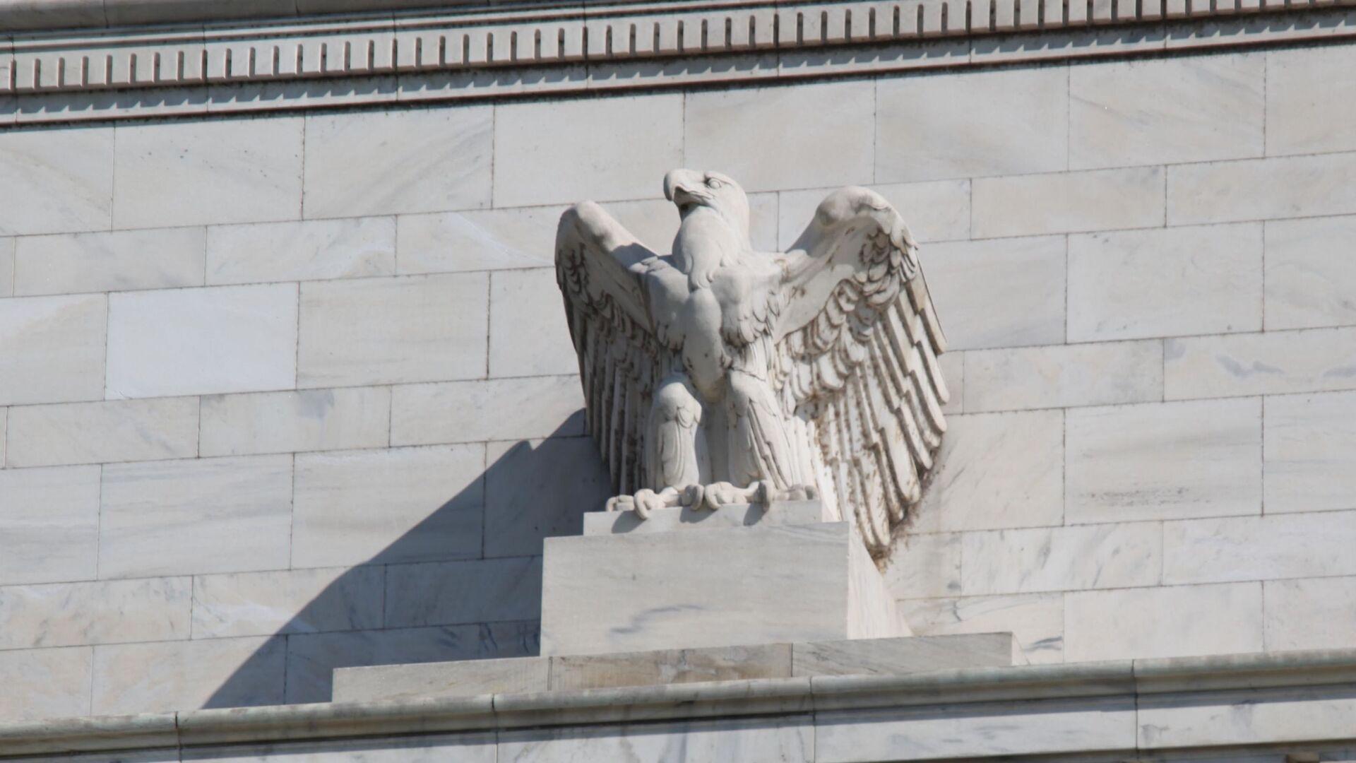 Federal Reserve Building - eagle  - Sputnik International, 1920, 08.09.2021