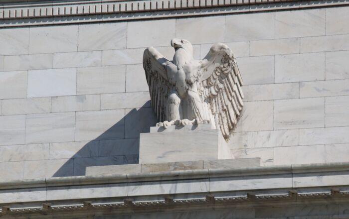 Federal Reserve Building - eagle
