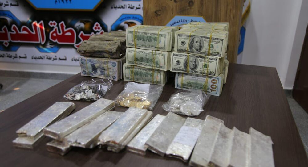 Iraqi security forces find $1.5 million stash of cash left by Daesh terrorist group in Mosul