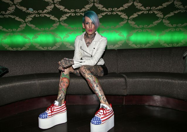 Jeffree Star attends the 2013 Vans Warped Tour Press Conference And Kick-Off Party held at Club Nokia