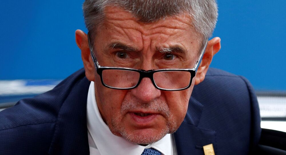 Czech Republic's Prime Minister Andrej Babis arrives at a European Union leaders summit in Brussels, Belgium, June 30, 2019.