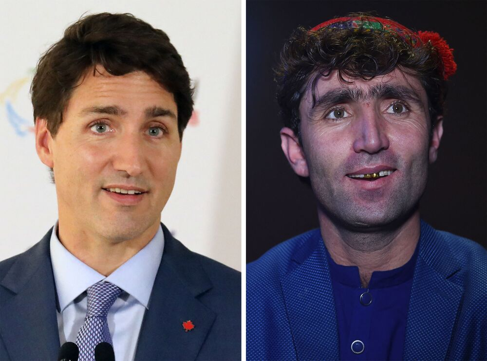 An Afghan talent show contestant's striking resemblance to Canadian Prime Minister Justin Trudeau has turned him into an unlikely celebrity in the war-torn country - and potentially given him the winning edge.