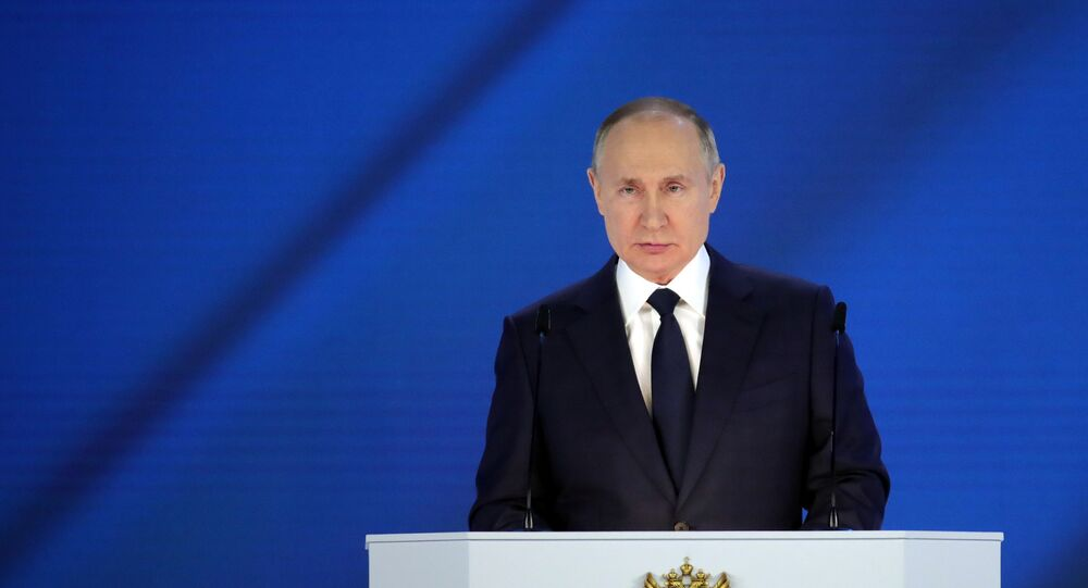 Russian President Vladimir Putin Delivers Annual Address to Federal Assembly