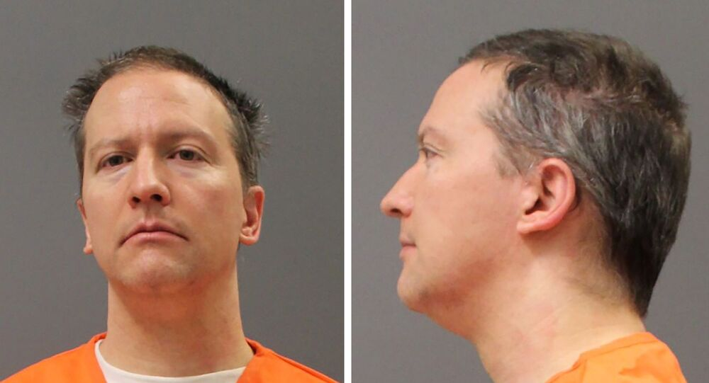 Former Minneapolis Police Officer Derek Chauvin is shown in a diptych of police booking photos after a jury found him guilty on all counts in his trial for second-degree murder, third-degree murder and second-degree manslaughter in the death of George Floyd in Minneapolis, Minnesota, US on 20 April 2021.