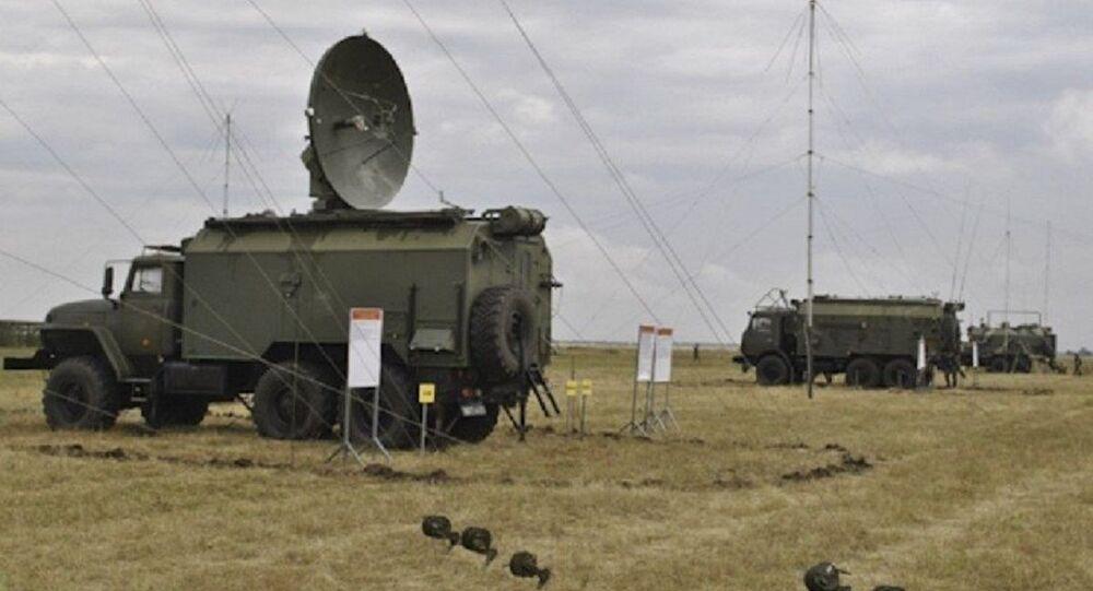 Field-21M (Polye-21M) electronic warfare system