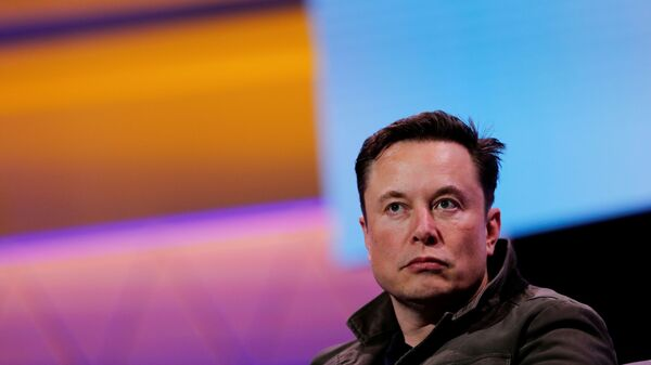 SpaceX owner and Tesla CEO Elon Musk speaks during a conversation with legendary game designer Todd Howard (not pictured) at the E3 gaming convention in Los Angeles, California, U.S., June 13, 2019 - Sputnik International