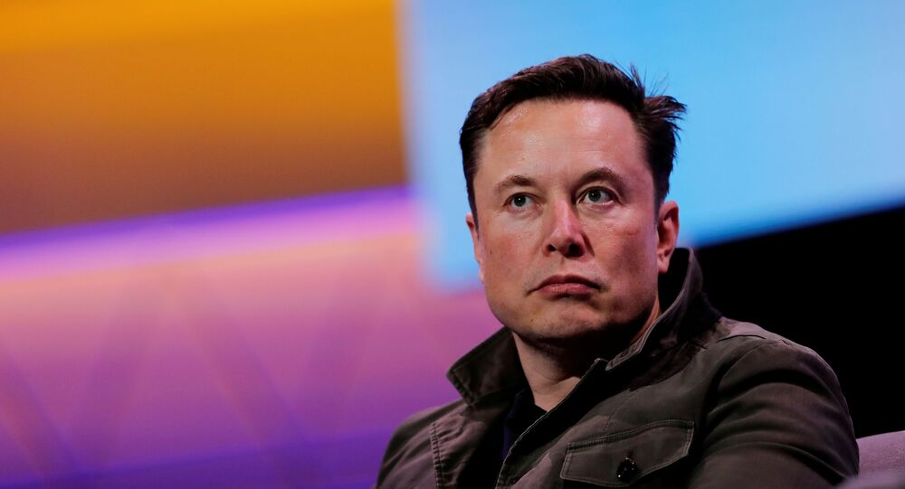SpaceX owner and Tesla CEO Elon Musk speaks during a conversation with legendary game designer Todd Howard (not pictured) at the E3 gaming convention in Los Angeles, California, U.S., June 13, 2019