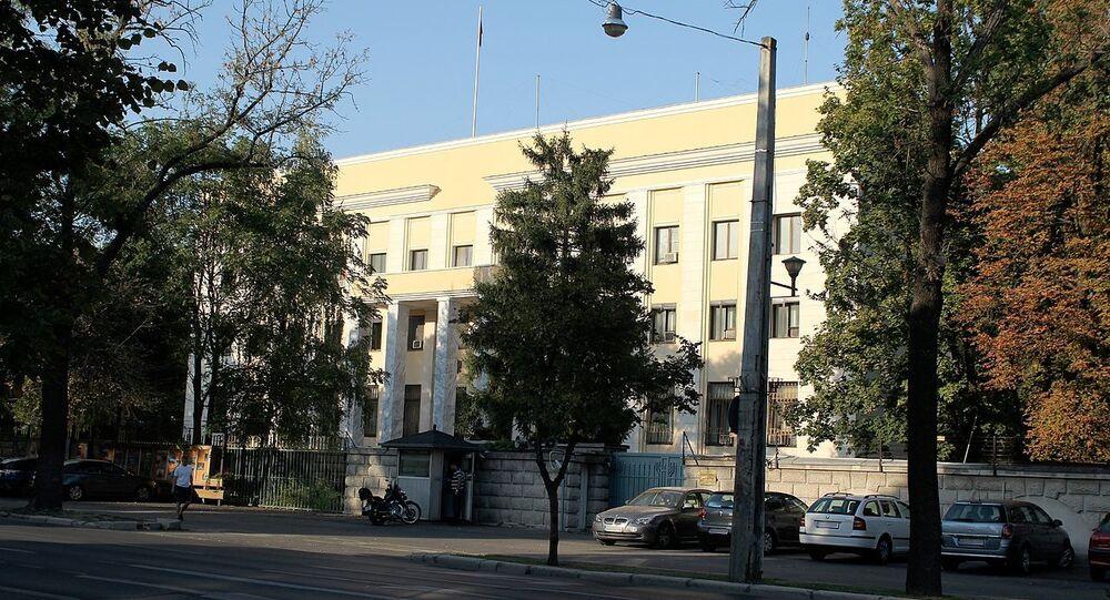 Russian embassy in Bucharest, Romania