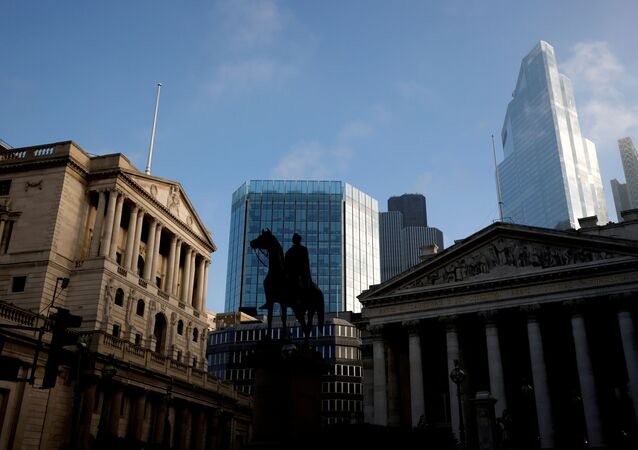 The Bank of England and the City of London financial district in London, Britain, November 5, 2020