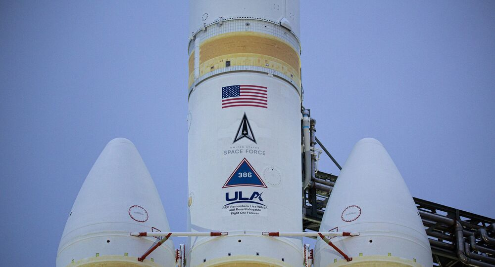 Delta IV heavy rocket successfully propelled a US spy satellite into space from Vandenberg Air Force Base in California, the United Launch Alliance announced.