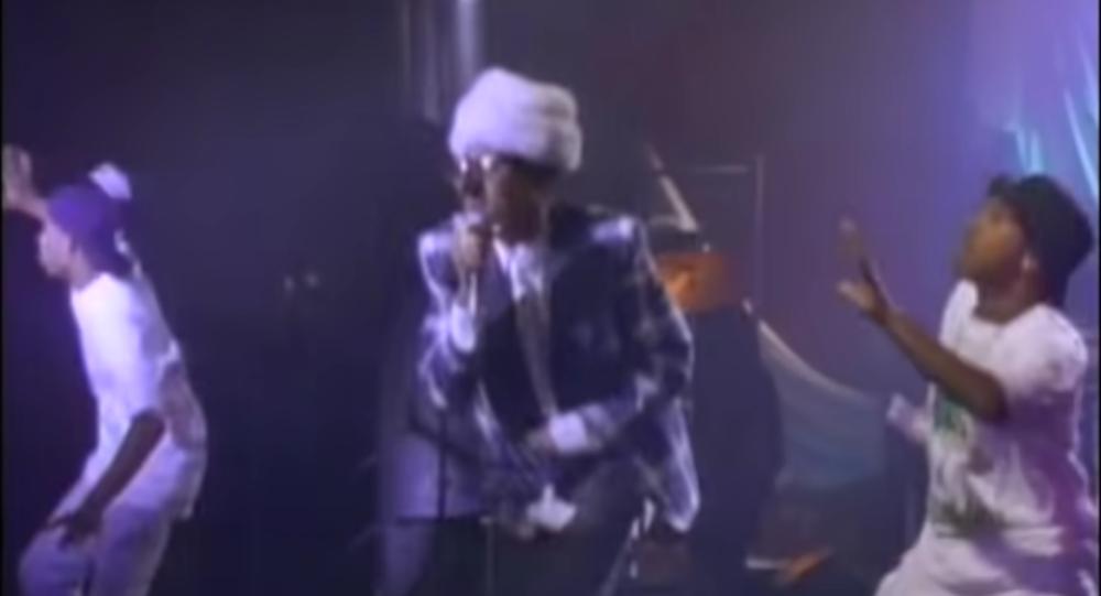 Rapper Shock G in The Humpty Dance
