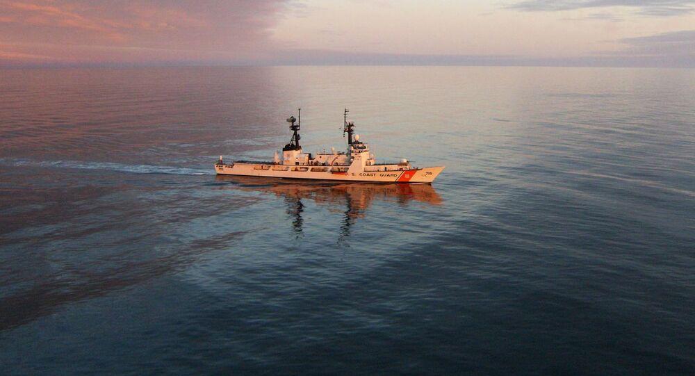 The Coast Guard Cutter Hamilton