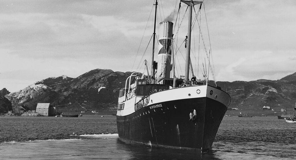 Norwegian passenger ship DS Nordnorge