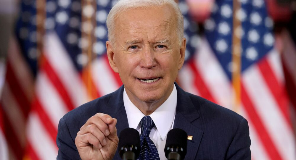 FILE PHOTO: U.S. President Joe Biden speaks about his infrastructure plan during an event to tout the plan at Carpenters Pittsburgh Training Center in Pittsburgh, Pennsylvania, U.S., March 31, 2021.