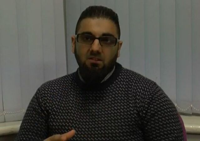 Usman Khan pictured during one of his Learning Together sessions