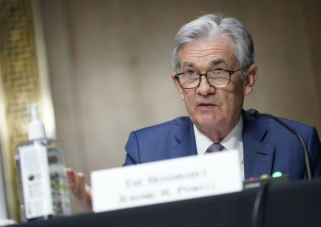 In this Dec. 1, 2020, file photo, Chairman of the Federal Reserve Jerome Powell speaks during a Senate Banking Committee hearing on Capitol Hill in Washington.