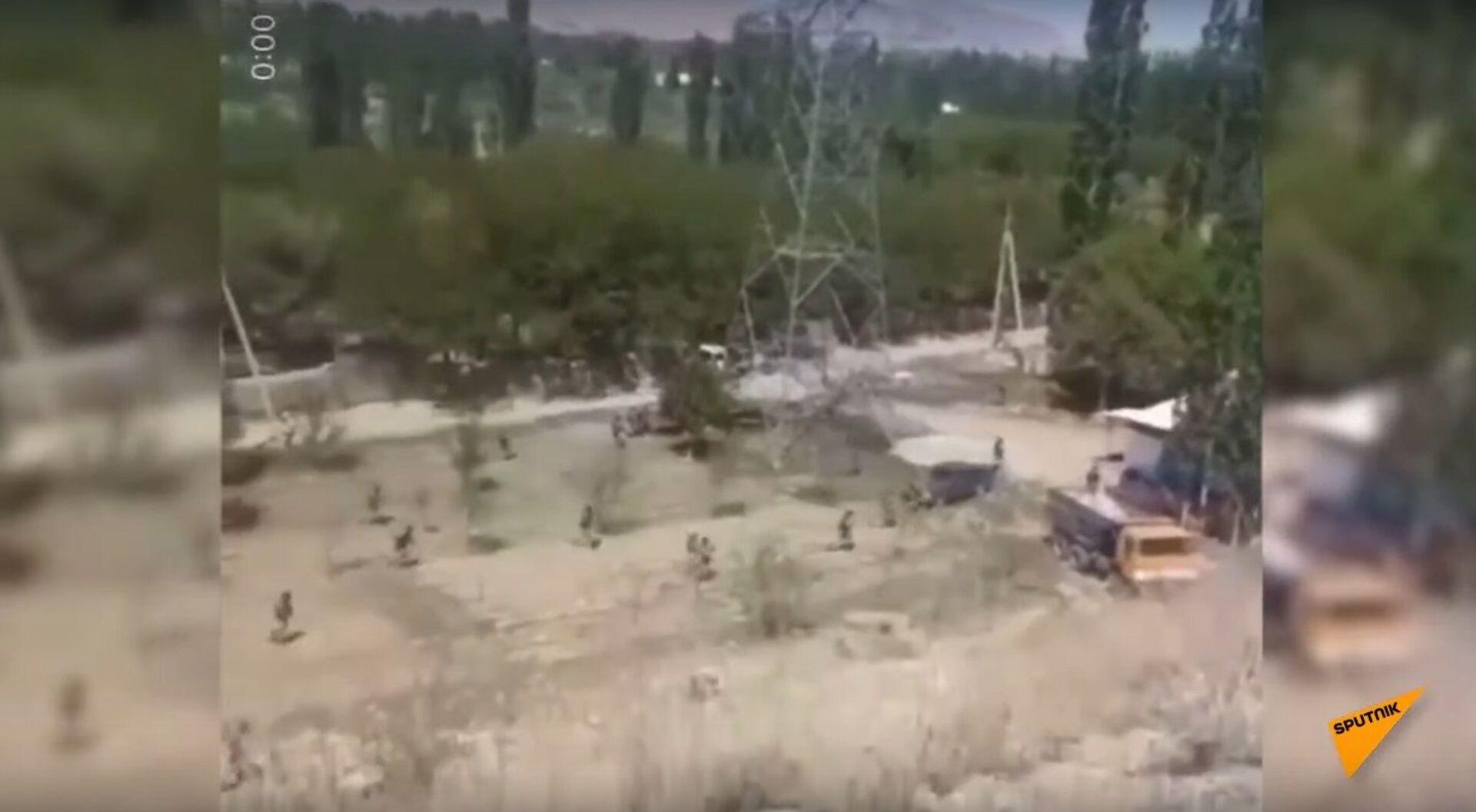 Shootout at Kyrgyz-Tajik Border - Sputnik International, 1920, 07.09.2021