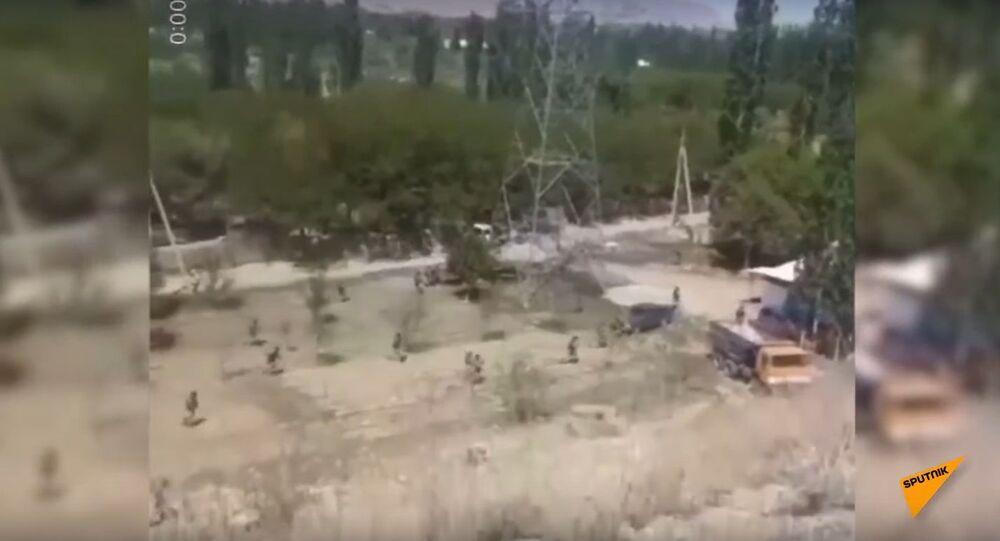Shootout at Kyrgyz-Tajik Border